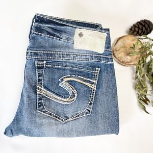 27x33 Aiko Silver Jeans
